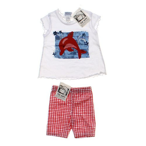 Flap Happy Shirt & Shorts Set in size 2/2T at up to 95% Off - Swap.com