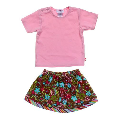 Zutano Shirt & Skirt Outfit in size 12 mo at up to 95% Off - Swap.com