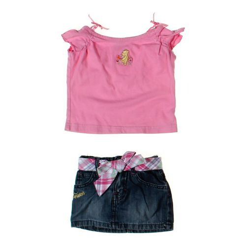 Classic Pooh Shirt & Skort Set in size 12 mo at up to 95% Off - Swap.com