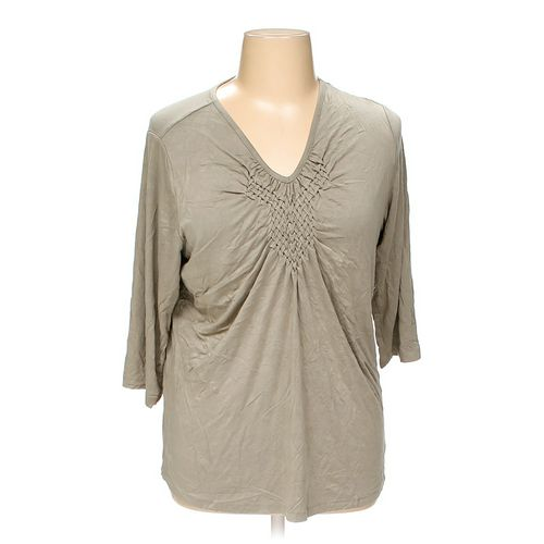 Susan Graver Shirt in size 1X at up to 95% Off - Swap.com