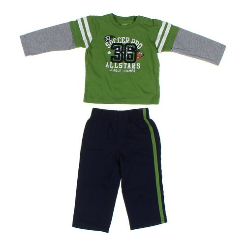 Carter's Shirt & Sweatpants Set in size 24 mo at up to 95% Off - Swap.com