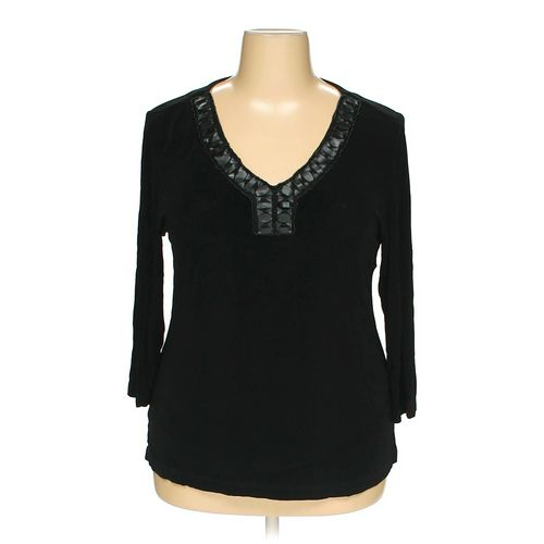 Travelers by Chico's Shirt in size 16 at up to 95% Off - Swap.com