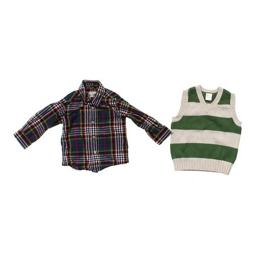 The Children's Place Shirt & Vest Set in size 12 mo at up to 95% Off - Swap.com