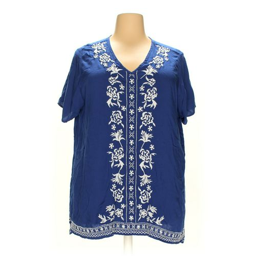 Woman Within Shirt in size 1X at up to 95% Off - Swap.com