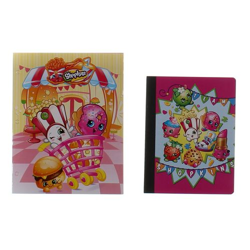 Shopkins Shopkins Folder and Notebook at up to 95% Off - Swap.com