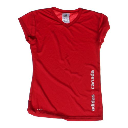 Adidas Short Sleeve Active Shirt in size JR 11 at up to 95% Off - Swap.com