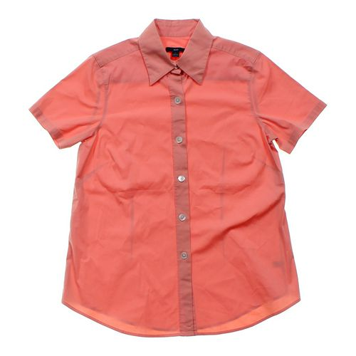 Gap Short Sleeve Button-up in size JR 3 at up to 95% Off - Swap.com
