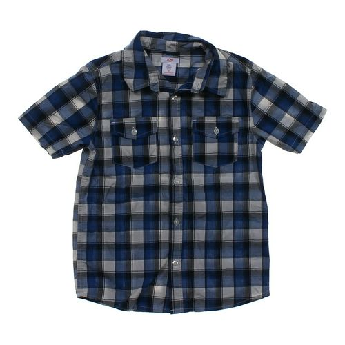 Joe Fresh Short Sleeve Button-up Shirt in size 8 at up to 95% Off - Swap.com