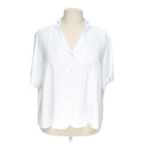 Notations Short Sleeve Button-up Shirt in size 26 at up to 95% Off - Swap.com