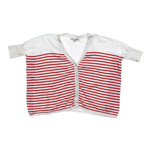 Forever 21 Short Sleeve Cardigan in size JR 3 at up to 95% Off - Swap.com