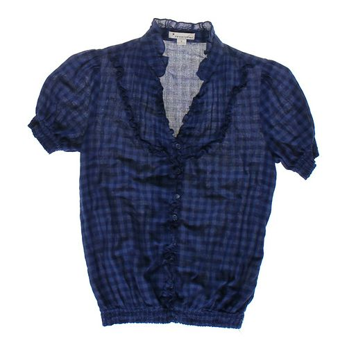 Forever 21 Short Sleeve Plaid Shirt in size JR 3 at up to 95% Off - Swap.com