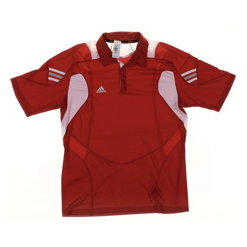 Adidas Short Sleeve Polo Shirt in size L at up to 95% Off - Swap.com