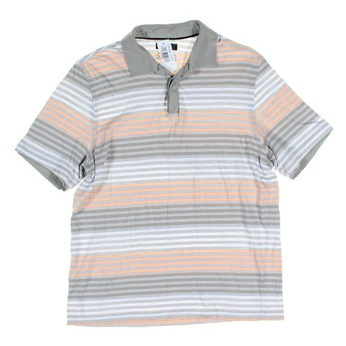 Alfani Short Sleeve Polo Shirt in size M at up to 95% Off - Swap.com