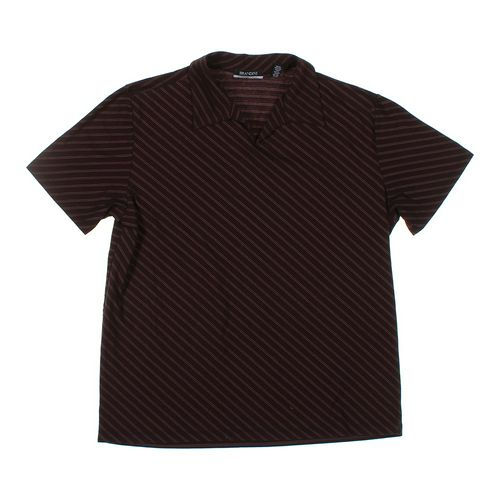 BRANDINI Short Sleeve Polo Shirt in size XL at up to 95% Off - Swap.com