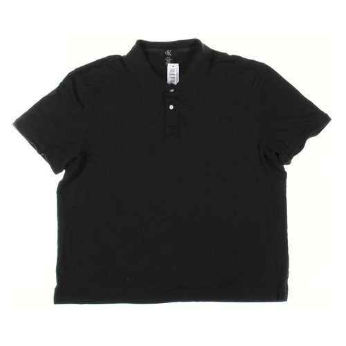 Calvin Klein Short Sleeve Polo Shirt in size XXL at up to 95% Off - Swap.com