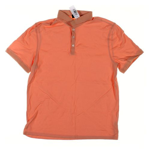 Calvin Klein Short Sleeve Polo Shirt in size L at up to 95% Off - Swap.com
