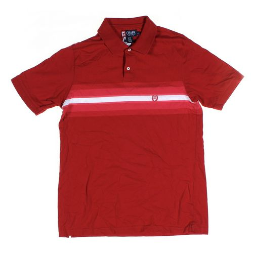 Chaps Short Sleeve Polo Shirt in size M at up to 95% Off - Swap.com
