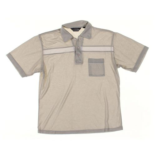 Crescent Bay Short Sleeve Polo Shirt in size L at up to 95% Off - Swap.com