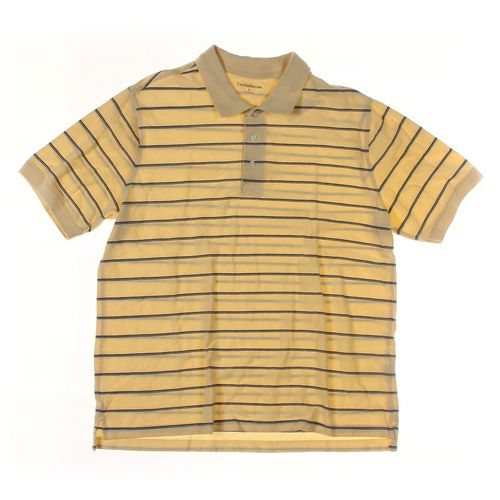 Croft & Barrow Short Sleeve Polo Shirt in size L at up to 95% Off - Swap.com