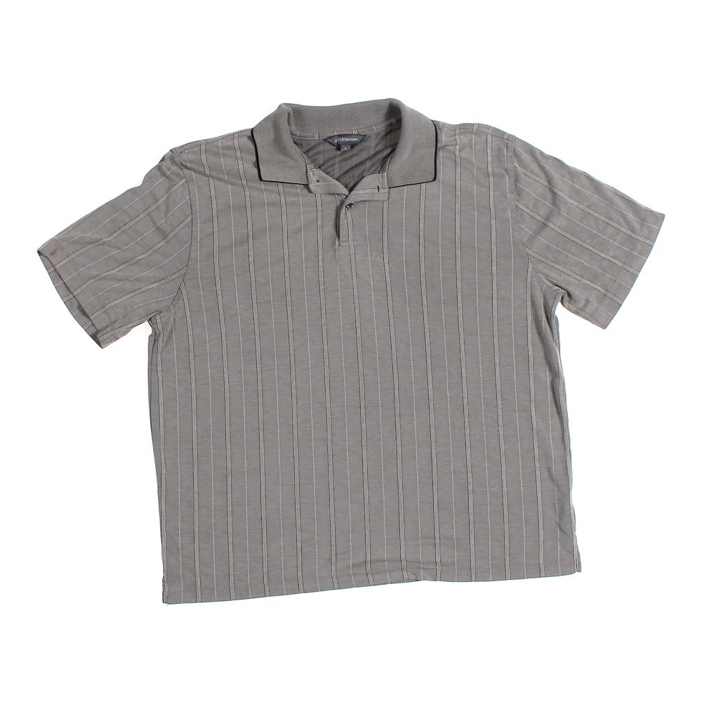 ef41fa80 Croft & Barrow Short Sleeve Polo Shirt in size L at up to 95% Off