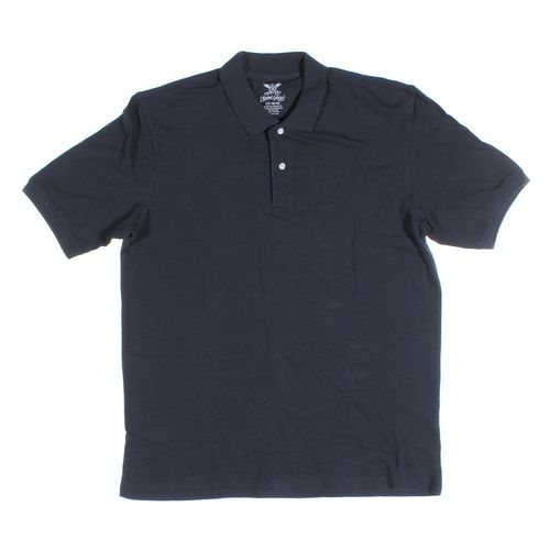 Faded Glory Short Sleeve Polo Shirt in size L at up to 95% Off - Swap.com