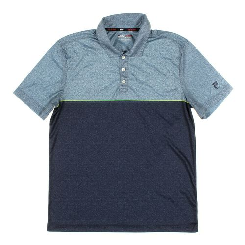FILA Short Sleeve Polo Shirt in size M at up to 95% Off - Swap.com