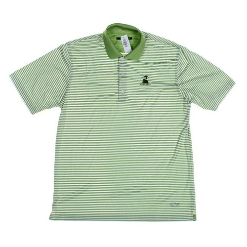 Greg Norman Short Sleeve Polo Shirt in size L at up to 95% Off - Swap.com