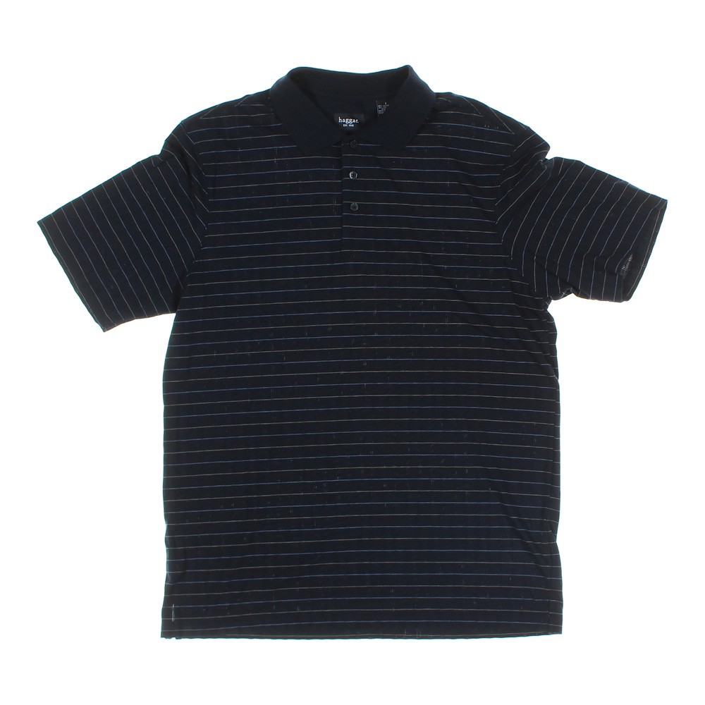 aa5ffe79 Haggar Short Sleeve Polo Shirt in size L at up to 95% Off - Swap