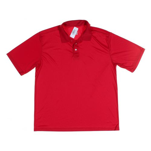 Hanes Short Sleeve Polo Shirt in size L at up to 95% Off - Swap.com