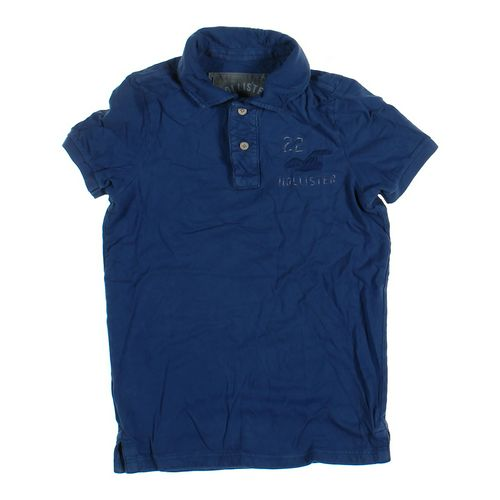 Hollister Short Sleeve Polo Shirt in size XS at up to 95% Off - Swap.com