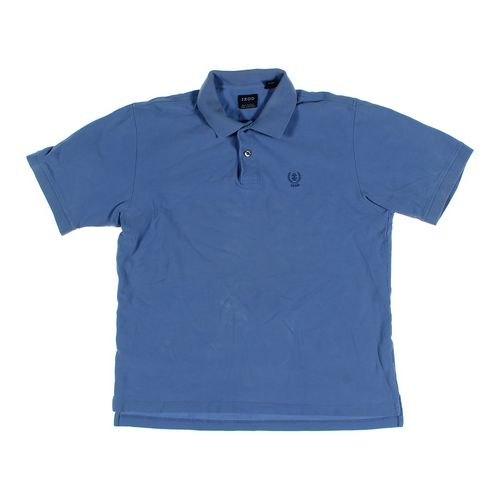 Izod Short Sleeve Polo Shirt in size L at up to 95% Off - Swap.com