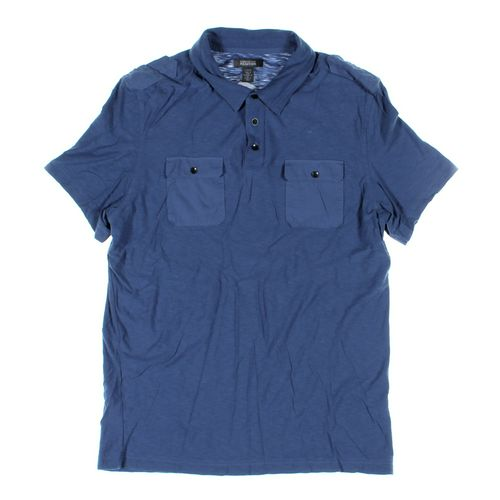 KENNETH COLE REACTION Short Sleeve Polo Shirt in size L at up to 95% Off - Swap.com