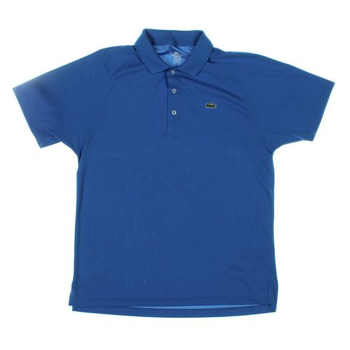 Lacoste Short Sleeve Polo Shirt in size L at up to 95% Off - Swap.com