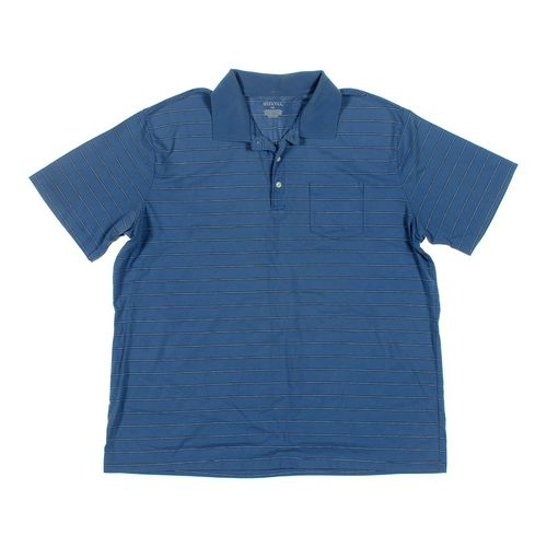 Merona Short Sleeve Polo Shirt in size XXL at up to 95% Off - Swap.com
