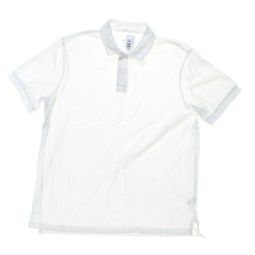 Merona Short Sleeve Polo Shirt in size L at up to 95% Off - Swap.com