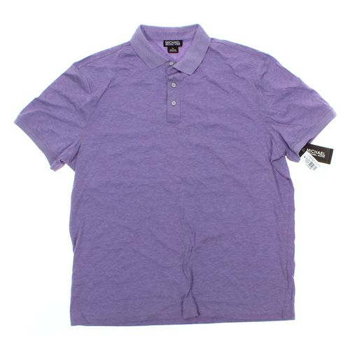 Michael Kors Short Sleeve Polo Shirt in size XL at up to 95% Off - Swap.com