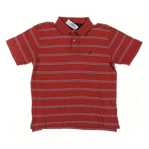 Nautica Short Sleeve Polo Shirt in size L at up to 95% Off - Swap.com