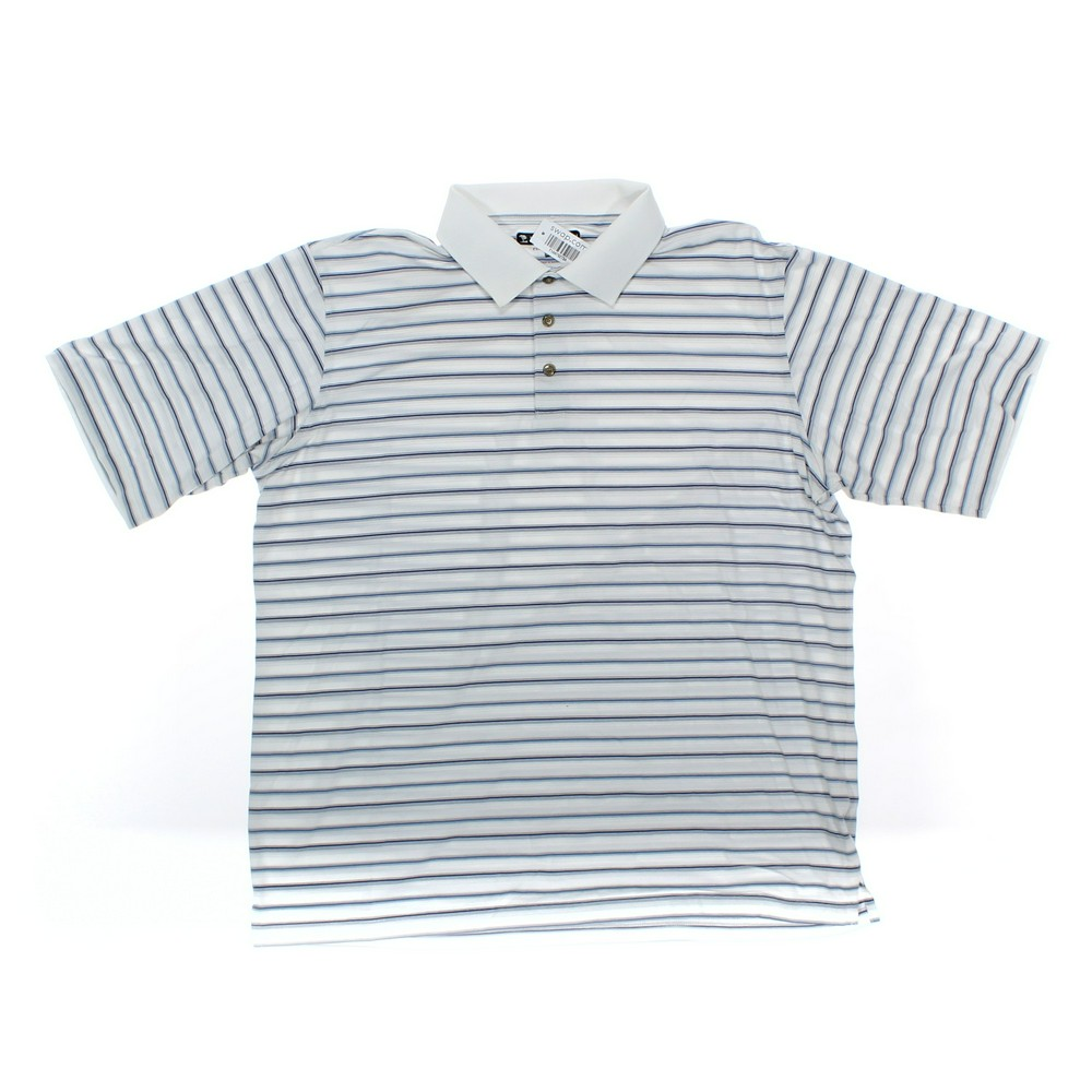 991832f5 PEBBLE BEACH Short Sleeve Polo Shirt in size XXL at up to 95% Off -