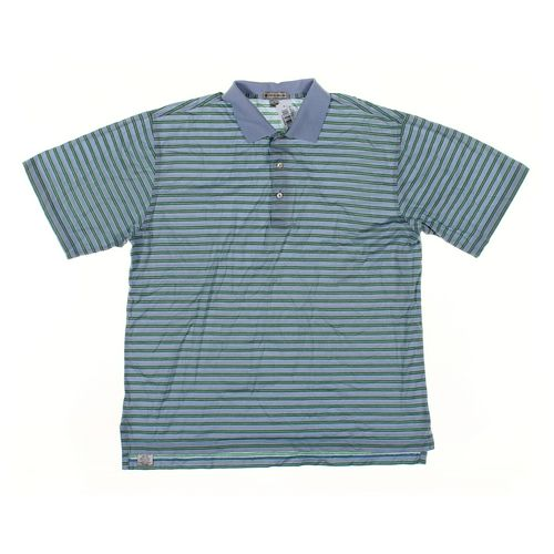 Peter Millar Short Sleeve Polo Shirt in size L at up to 95% Off - Swap.com