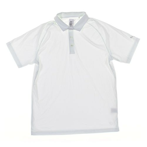 Puma Short Sleeve Polo Shirt in size L at up to 95% Off - Swap.com
