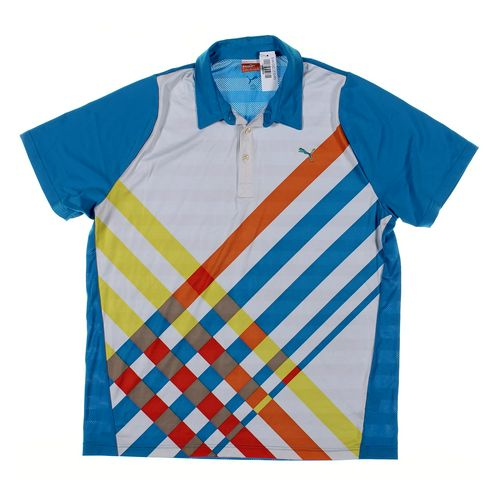 Puma Short Sleeve Polo Shirt in size XL at up to 95% Off - Swap.com