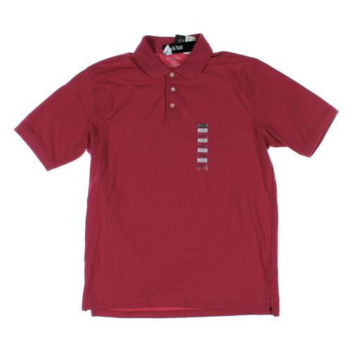 St. John's Bay Short Sleeve Polo Shirt in size L at up to 95% Off - Swap.com