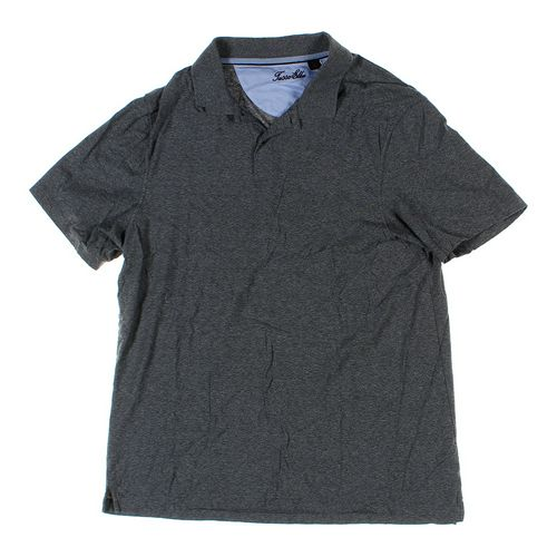 Tasso Elba Short Sleeve Polo Shirt in size L at up to 95% Off - Swap.com