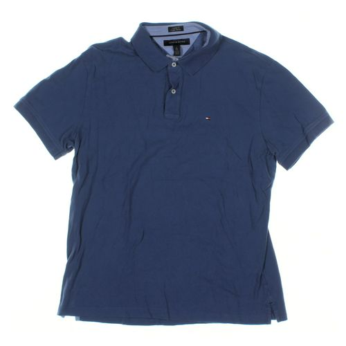 Tommy Hilfiger Short Sleeve Polo Shirt in size XL at up to 95% Off - Swap.com