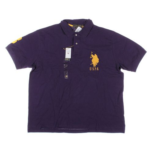 U.S. Polo Assn. Short Sleeve Polo Shirt in size 2XL at up to 95% Off - Swap.com