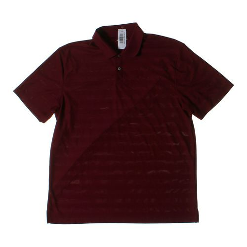 Van Heusen Short Sleeve Polo Shirt in size L at up to 95% Off - Swap.com