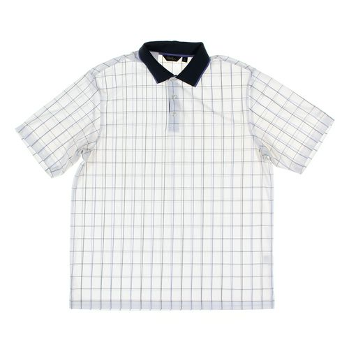 Walter Hagen Golf Apparel Short Sleeve Polo Shirt in size L at up to 95% Off - Swap.com