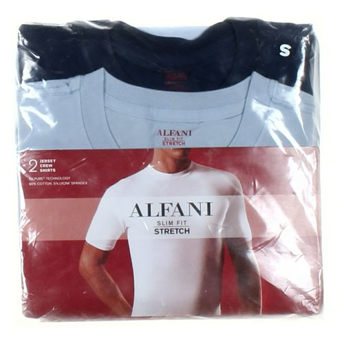 """Alfani Short Sleeve T-shirt in size 34"""" Chest at up to 95% Off - Swap.com"""