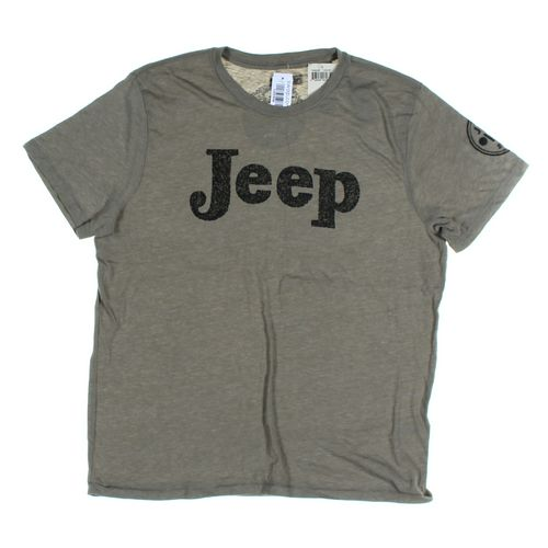 Jeep Short Sleeve T-shirt in size L at up to 95% Off - Swap.com