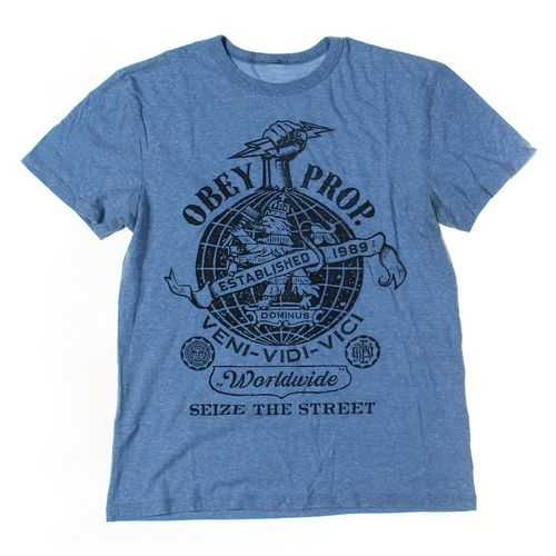 OBEY Short Sleeve T-shirt in size M at up to 95% Off - Swap.com
